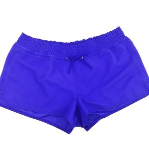 Old Navy Cobalt Cover-Up Drawstring Shorts L NWT